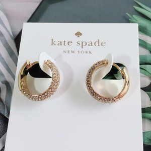Kate Spade Full Diamond Inlaid Earrings